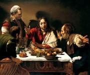 05_Caravaggio  La cena di Emmaus