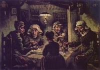 12_Van Gogh  I mangiatori di patate