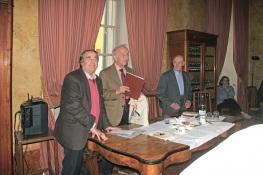 Angelo Peticca, Gian Luigi Beccaria, Giuseppe Marchetti