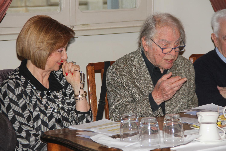 Anna Maria Cavalli e Luca Goldoni