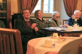 Angelo Peticca, Anna Maria Cavalli,  Luca Goldoni, Bruno Rossi