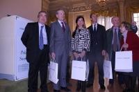 Le autorità che hanno partecipato alla premiazione del 19 maggio 2016