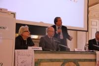 Il Prefetto di Parma dott. Giuseppe Forlani col Presidente Peticca