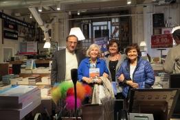 Da sinistra Fabio Carosone, Giancarla Minuti Guareschi, Lori Carpi e Luciana Beghè