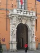 Ingresso di Palazzo Rangoni