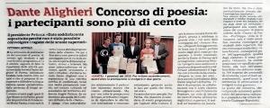 articolo della Gazzetta di Parma del 19 settembre 2020