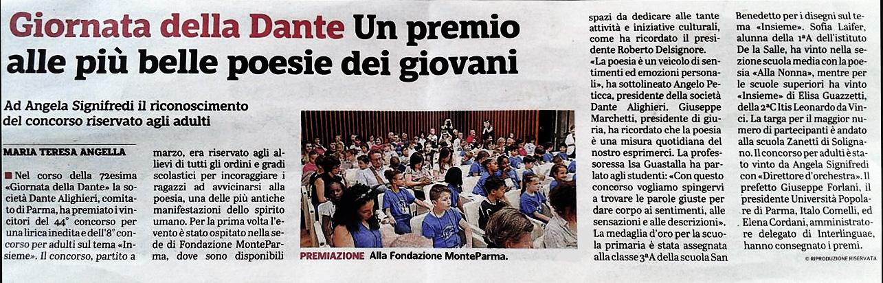 00-Gazzetta-Parma-31-maggio-2018-giornata-Dante