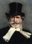 Celebre ritratto di Giuseppe Verdi, a cura di Giovanni Boldini