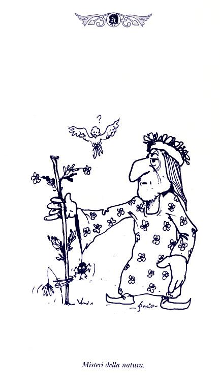 Misteri della natura - disegno del prof. Francesco Soncini (Soncio)