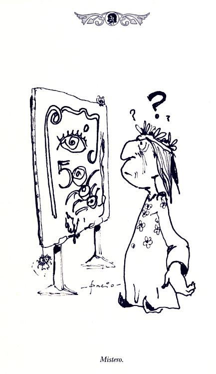 Mistero - disegno del prof. Francesco Soncini (Soncio)