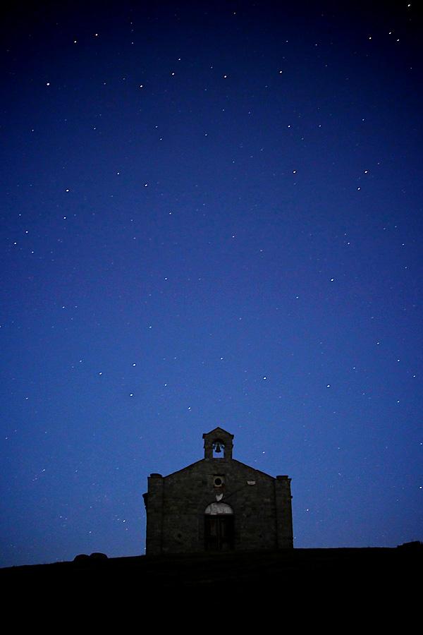 Cielo stellato al passo del Cirone