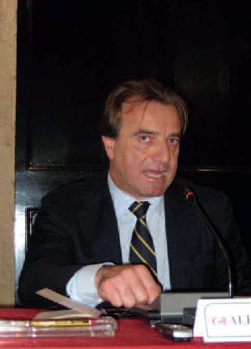 il Segretario Generale della «Dante» Alessandro Masi