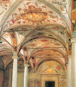 grottesche della blioteca di San Giovanni