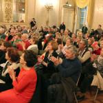 pubblico entusiasta alla manifestazione della Dante di Parma