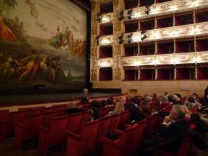 Il sipario del Teatro Regio di Parma