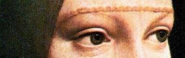 occhi della Dama con ermellino