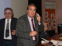 il presidente Angelo Peticca, il dott. Stefano Mazzacurati e la prof.ssa Isa Guastalla