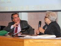 il presidente Angelo Peticca e la prof.ssa Isa Guastalla