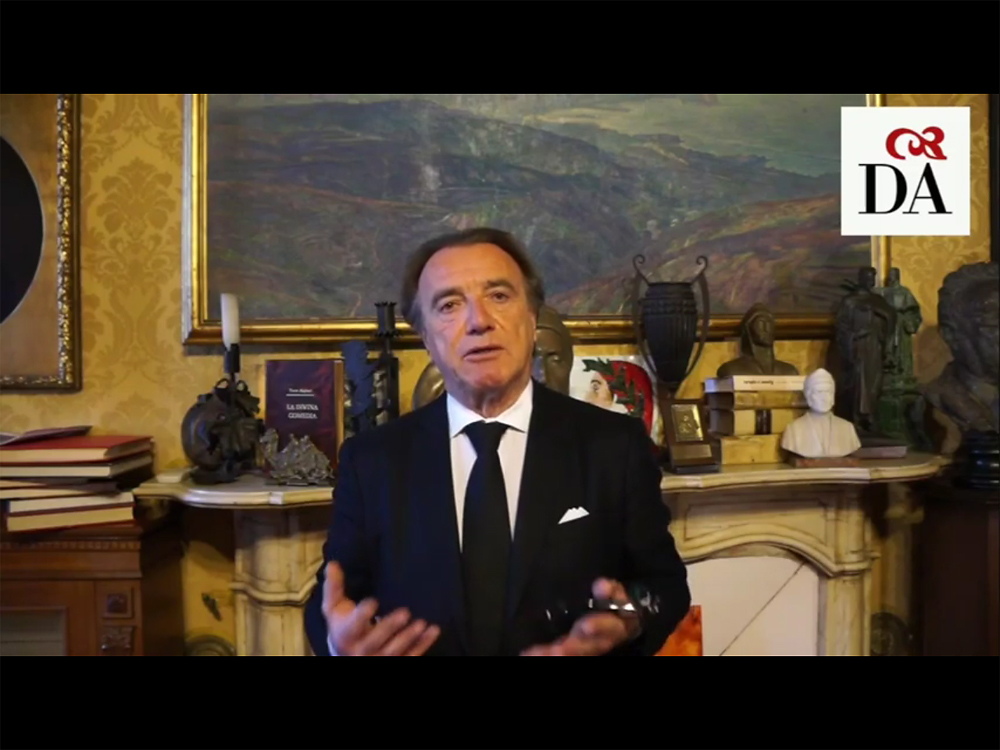 Il Segretario Nazionale della Dante Alighieri Alessandro Masi