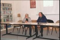 Il nostro artista Soncini e la prof.ssa Guastalla