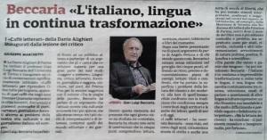 Dalla Gazzetta di Parma del 21 aprile 2019