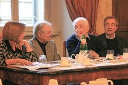 Anna Maria Cavalli,  Luca Goldoni, Bruno Rossi, Maurizio Chierici