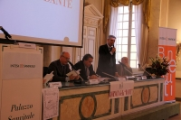 Al tavolo della presidenza interviene il Provveditore agli Studi di Parma prof. Maurizio Bocedi