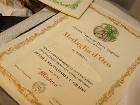 Diploma di medaglia d\'oro