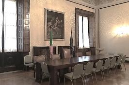 Sala di ricevimento della Prefettura