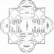 Pianta di Santa Maria della Steccata